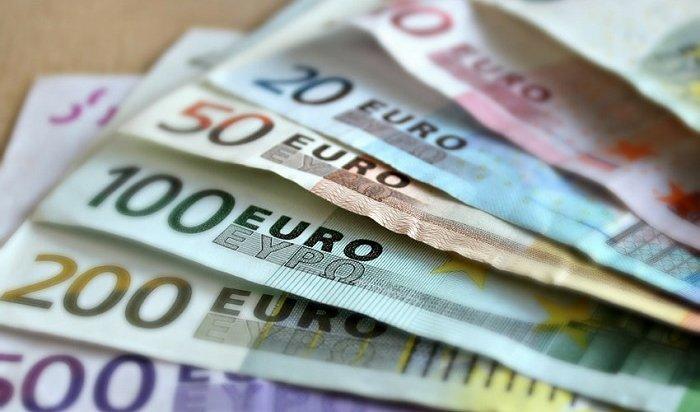 Курс евро опустился ниже 74рублей
