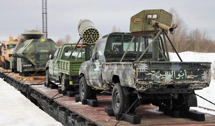 Военно-патриотическая акция «Сирийский перелом» пройдет вИркутской области