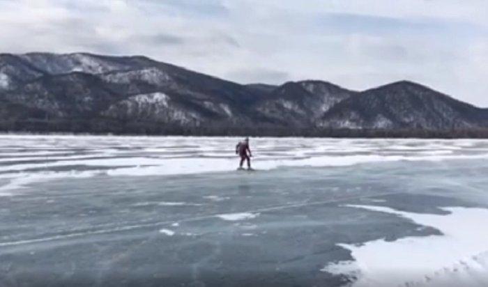 Иркутянин поставил рекорд Гиннеса нальду Байкала