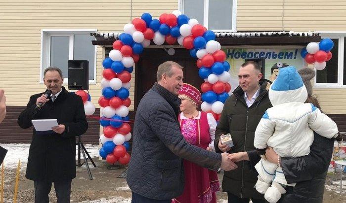 ВИркутской области построят 10кооперативных домов для бюджетников