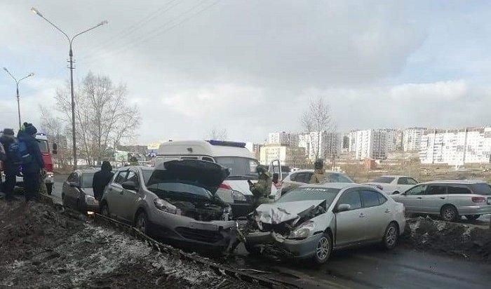 Два ребенка пострадали вДТП вБратске