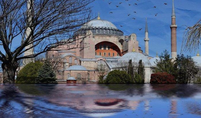 Эрдоган предложил сделать изСвятой Софии мечеть
