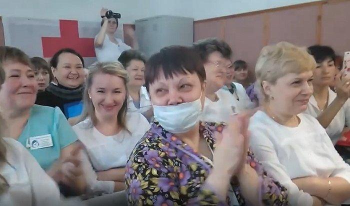Башкирские врачи посмеялись над докладом руководства обихзарплатах (Видео)
