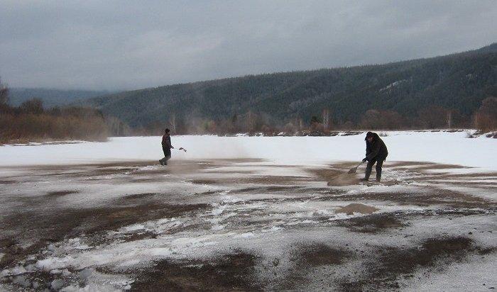 Противопаводковые работы ведут нареках Иркутской области