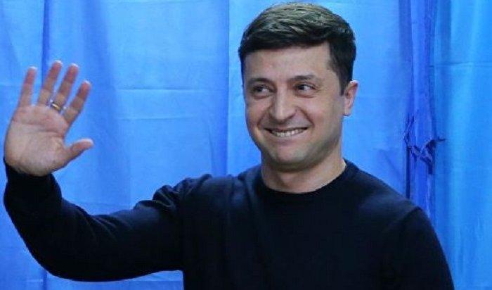 Кандидат впрезиденты Украины Зеленский заявил, что готов кпереговорам сПутиным