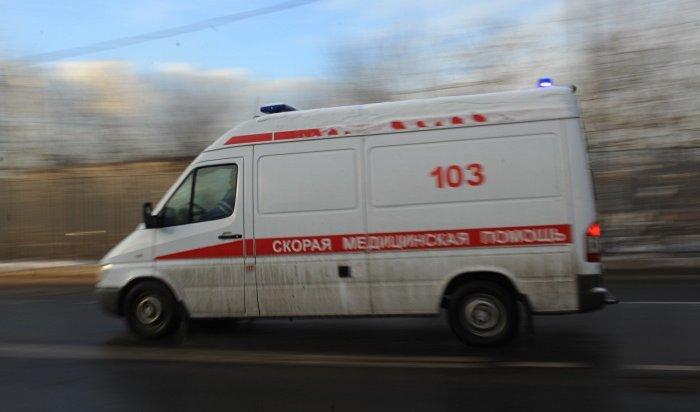 Вцентре Москвы скорая помощь сбила пешехода (Видео)