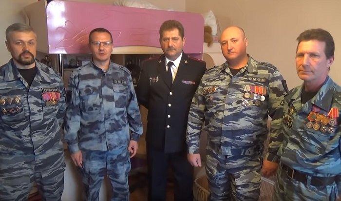 Ветераны московского ОМОНа обратились кПутину спросьбой неделать ихбомжами (Видео)