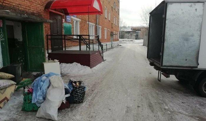 Еще одного жителя Зимы выселили изтрехкомнатной квартиры вобщежитие из-за долгов поЖКХ