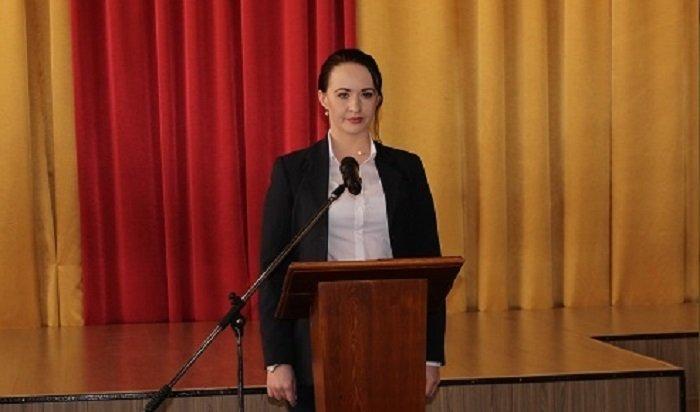 Домохозяйка Анна Щекина вступила вдолжность мэра Усть-Илимска