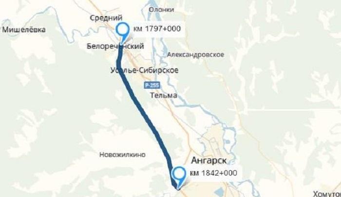 Новый участок трассы Р-255 вобход Усолья начнут строить в2019году