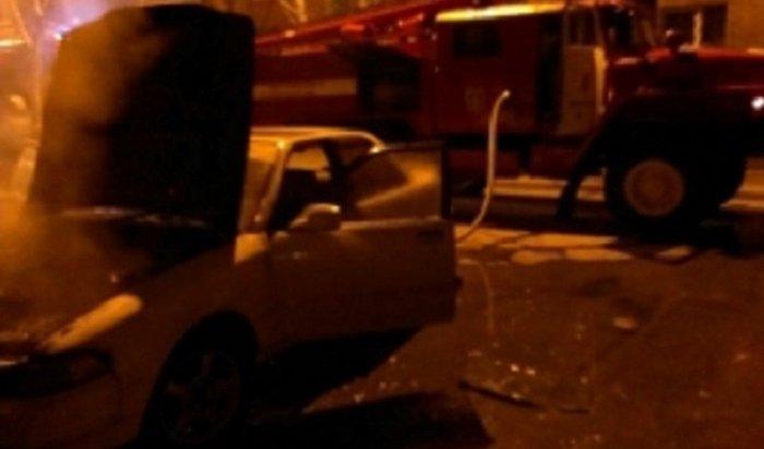 Семь автомобилей горели вИркутской области вночь на12апреля