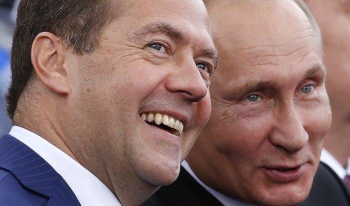 Путин в 2018 году заработал меньше Медведева