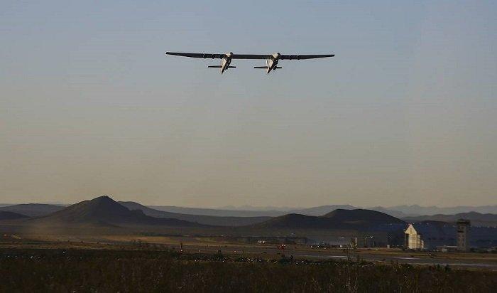 Видео первого полета самого большого самолета вмире опубликовали винтернете