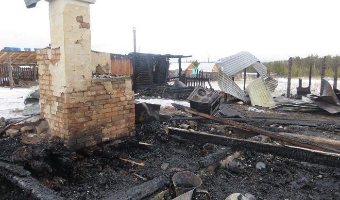 Два школьника погибли напожаре вНижнеилимском районе