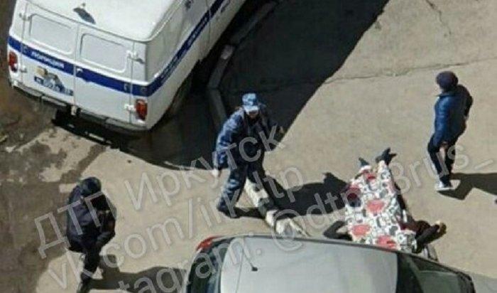 20-летняя девушка упала смногоэтажки вИркутске