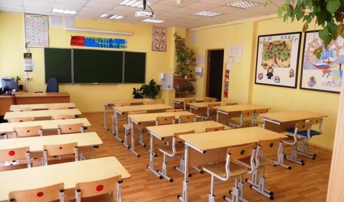 Строительство школы вмикрорайоне Лесном Иркутска выполнили на60%