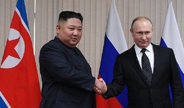 Путин принял приглашение Ким Чен Ына посетить КНДР (Видео)