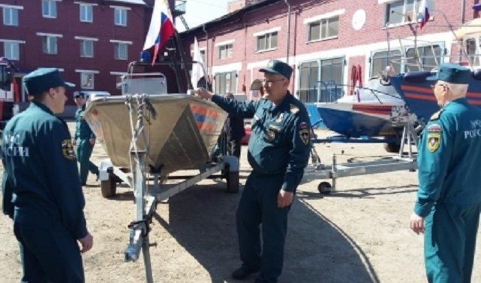 Навигацию нареках Иркутской области откроют 1мая