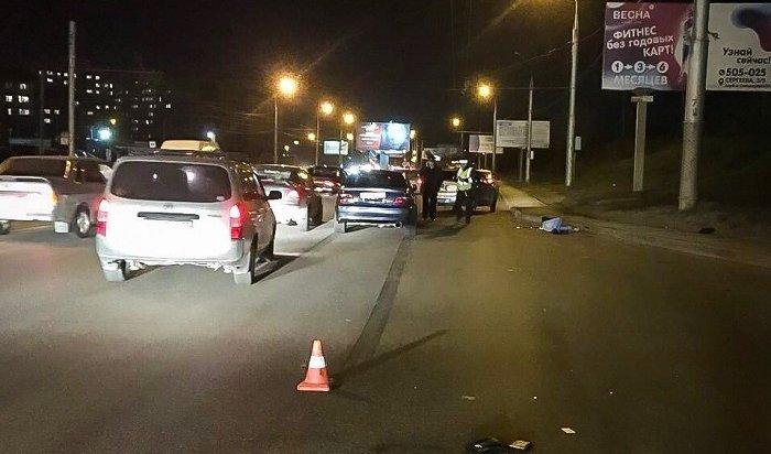 Два человека погибли вДТП вИркутске занеделю
