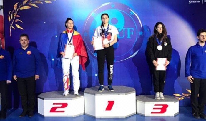 Иркутянка стала чемпионкой Европы поушу