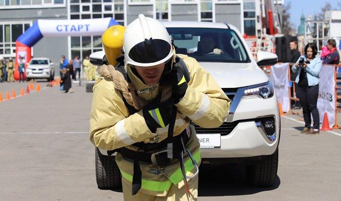 Пожарно-спасательный кроссфит прошел вИркутске (Фото+Видео)