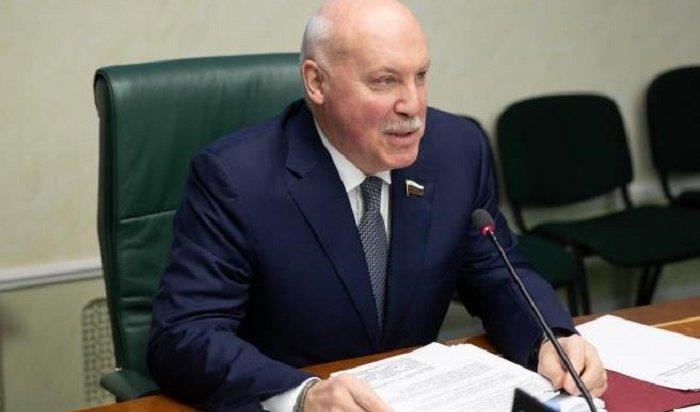 Экс-губернатора Иркутской области Дмитрия Мезенцева назначили послом России вБелоруссии