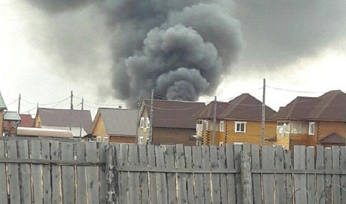 Два дома сгорели вселе Хомутово