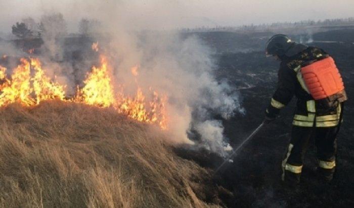 Высокая ичрезвычайная пожароопасность лесов установилась вбольшинстве районов Иркутской области