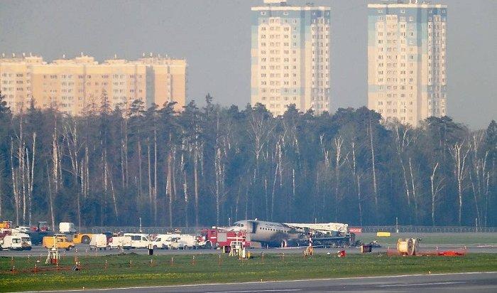 СКназвал основные версии крушения самолета вШереметьево