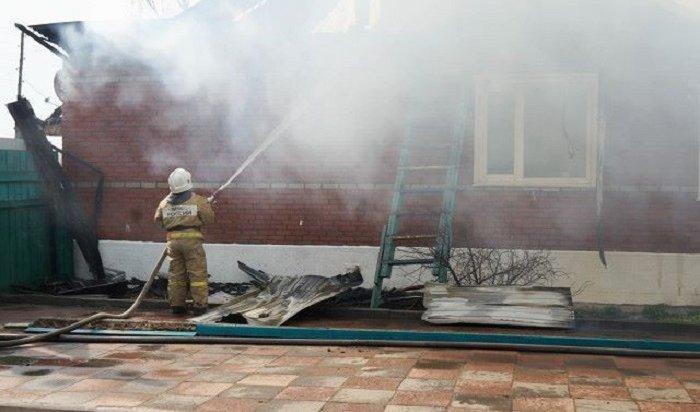 Трехлетний мальчик погиб напожаре вТайшетском районе