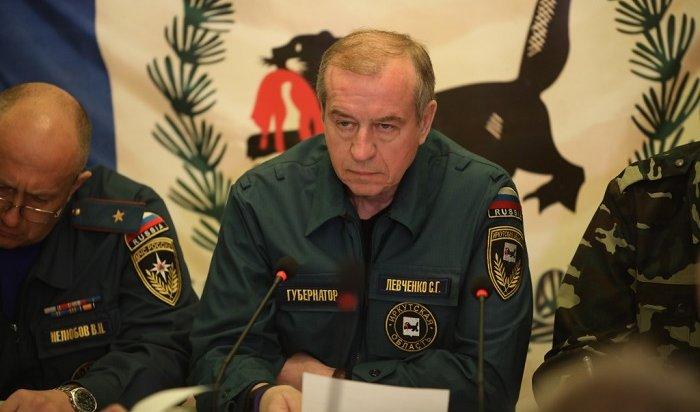 Сергей Левченко поручил проверить ложные сообщения всоцсетях опожарах вИркутской области