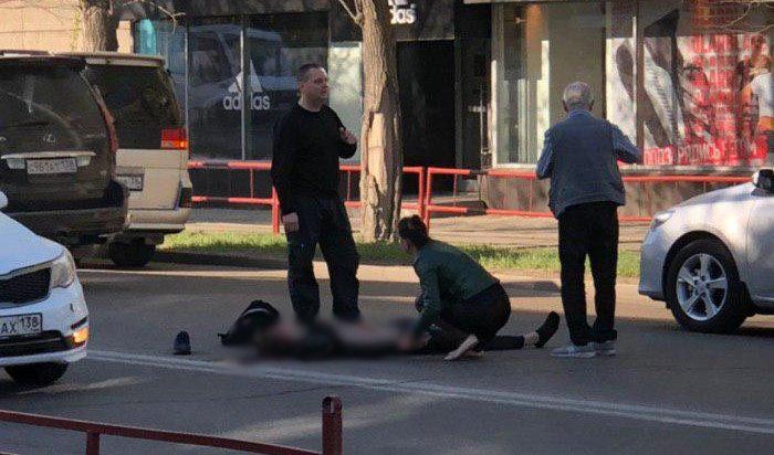 11-классник погиб наулице Байкальской вИркутске (Видео)