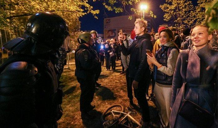 ВЕкатеринбурге входе протестов против строительства храма пострадали три человека (Видео)