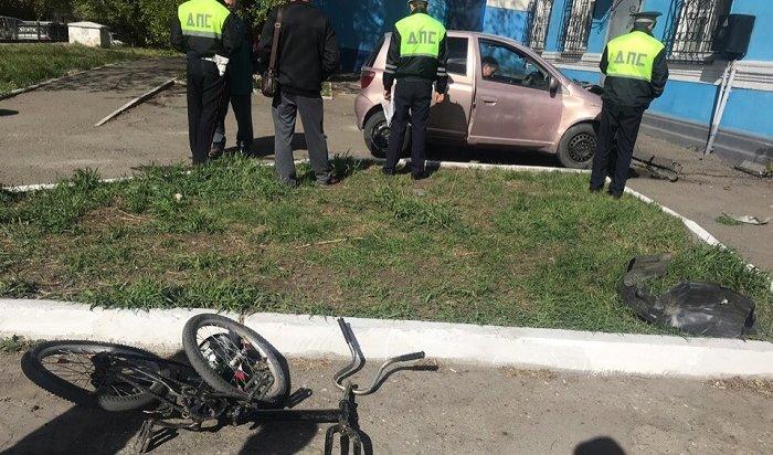 Наулице Розы Люксембург вИркутске сбили 12-летнего велосипедиста