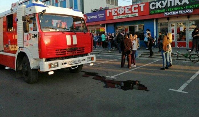 ВАнгарске горел ТЦ«Гефест»