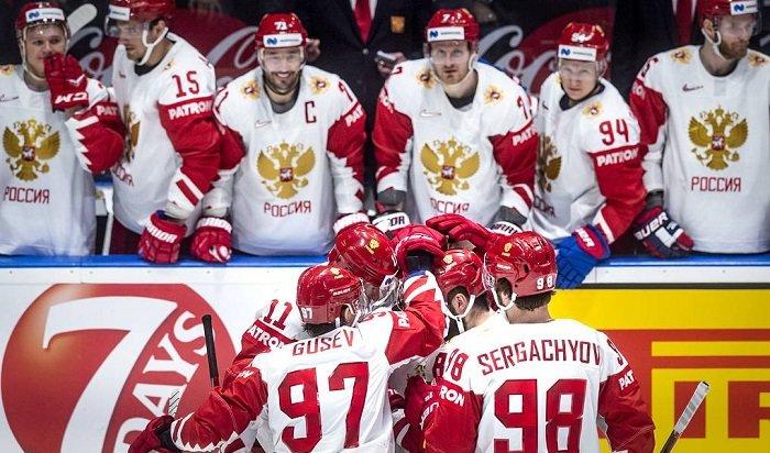 Россия одержала победу вовсех семи матчах группового турнира ЧМпохоккею