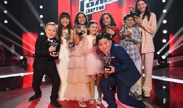 Эрнст назвал победителей шоу «Голос. Дети»