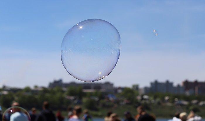 День мыльных пузырей прошел вИркутске (Фото+Видео)