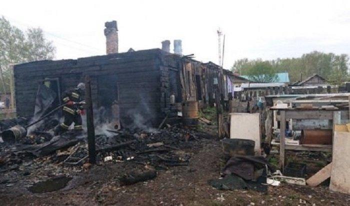 ВКрасноярском крае погибли напожаре трое детей