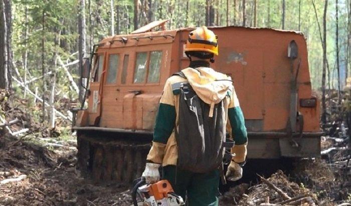 Четыре лесных пожара действуют наплощади 1012гавИркутской области