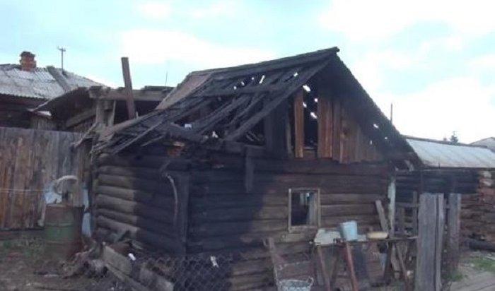 Поджигателя двух деревянных строений задержали полицейские под Иркутском (Видео)