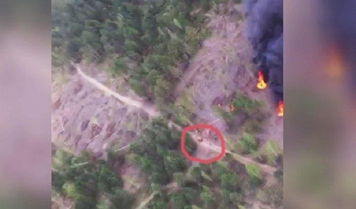 Восемь лесных пожаров наплощади более 1700гадействуют вИркутской области