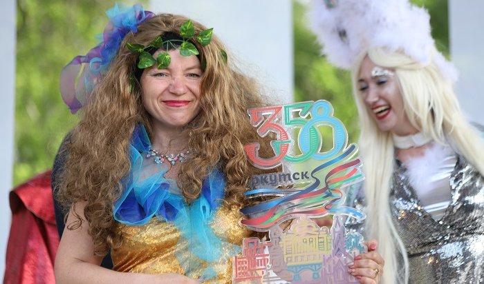 ВИркутске наградили лучшие колонны праздничного шествия (Фото)