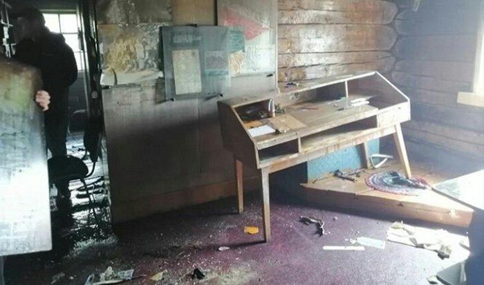 Библиотека вЖигаловском районе горела из-за короткого замыкания