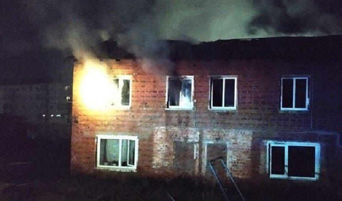 Мать исын погибли напожаре впоселке Маркова