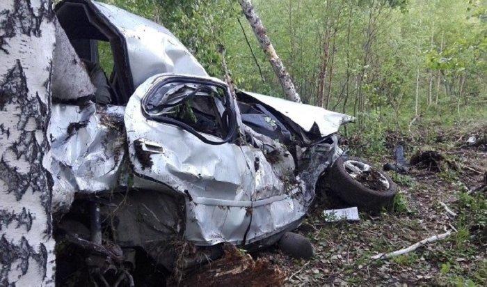 Двое мужчин погибли вДТП под Иркутском (Видео)