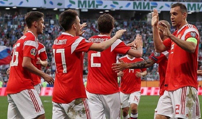Покер Дзюбы идубль Смолова помогли сборной России разгромить Сан-Марино 9:0