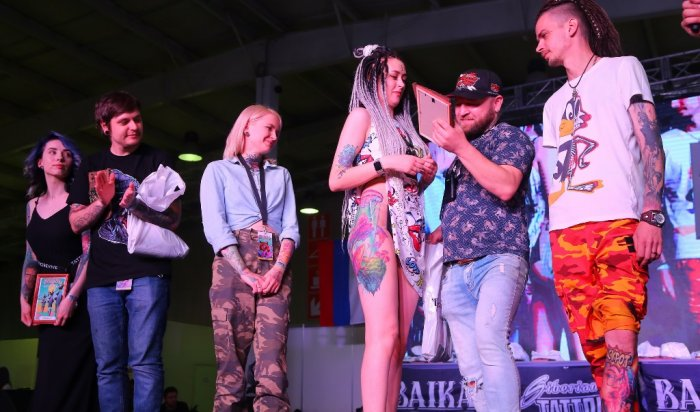 ВИркутске состоялся международный фестиваль татуировки Baikaltattoofest