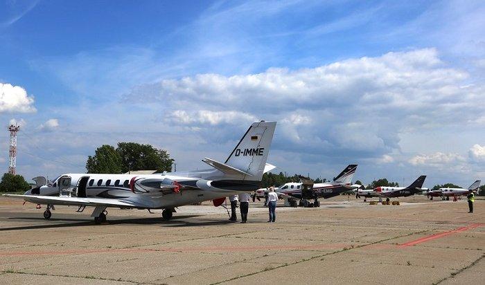 ВИркутске приземлились семь самолетов участников кругосветного путешествия