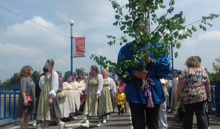 16июня вИркутске отмечают Троицу